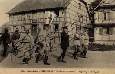 Carte postale Ballersdorf